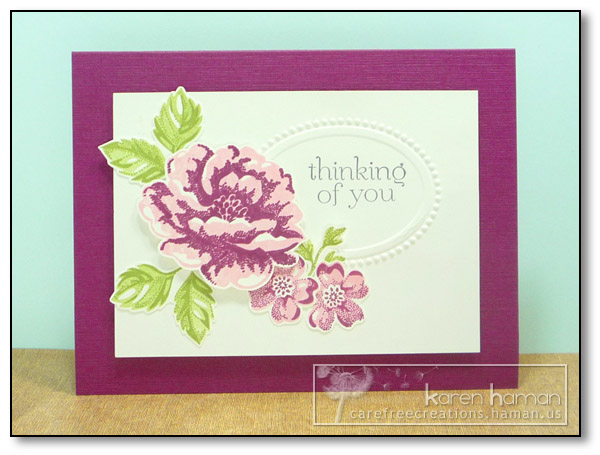 by Karen @ Carefree Creations - Razzled Roses