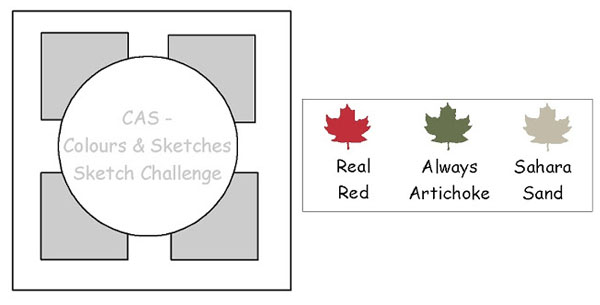 CAS Colours & Sketches Challenge #27