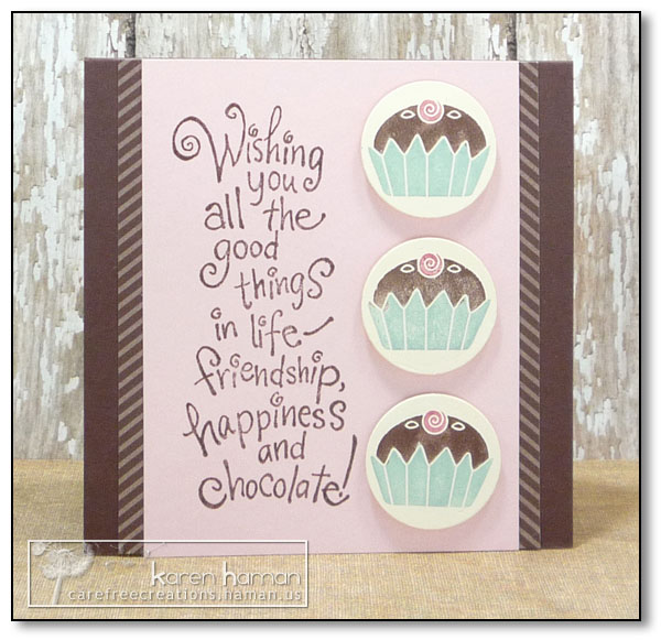by Karen @ carefree creations - Chocolate Wishes