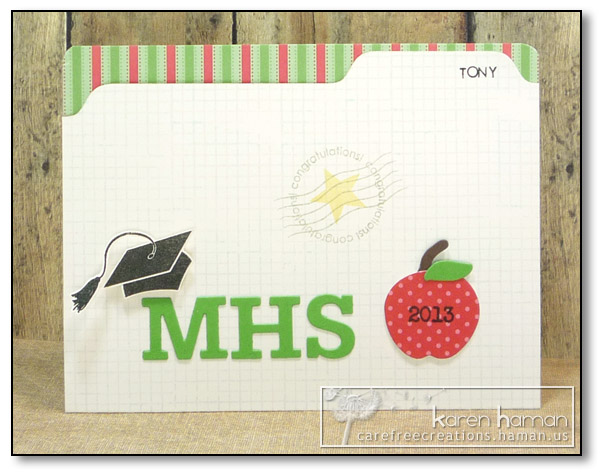by Karen @ carefree creations - File Folder Graduation