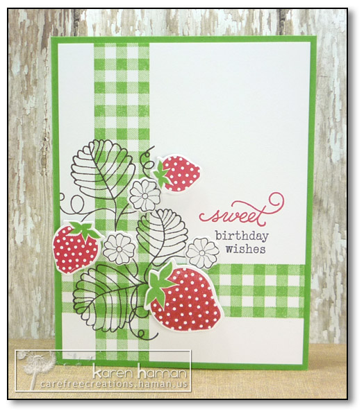 by Karen @ carefree creations - Country Berries