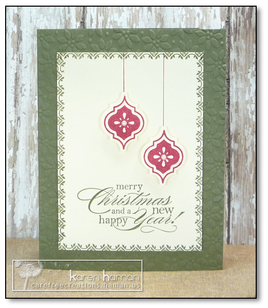 by karen @ carefree creations - Mosaic Christmas