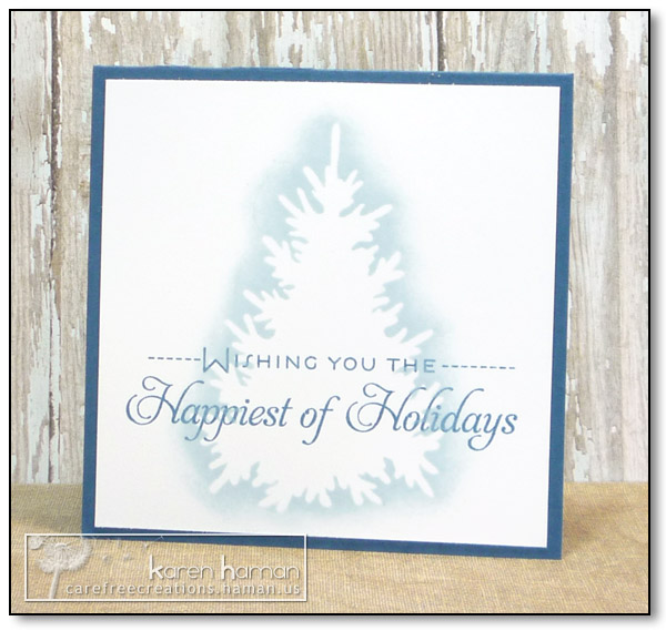 by karen @ carefree creations - Happiest of Holidays