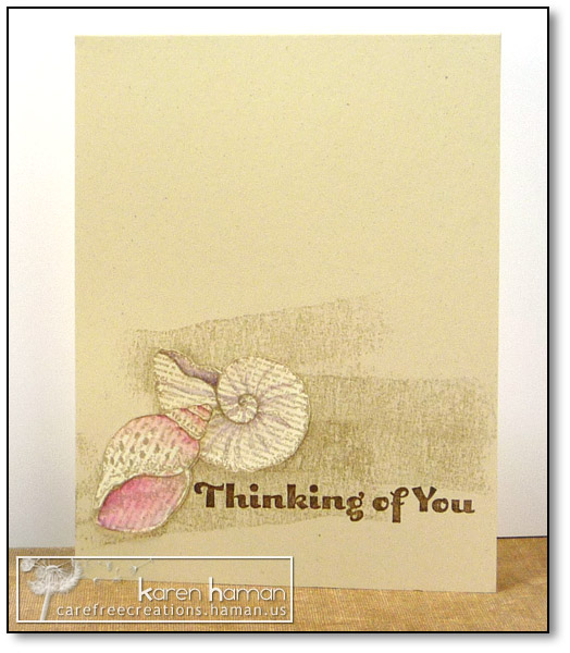 by karen @ carefree creations - Thinking of You