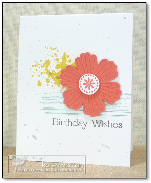 by karen @ carefree creations - Birthday Wishes