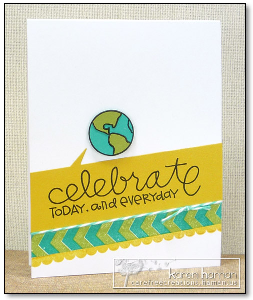 by karen @ carefree creations - Celebrate