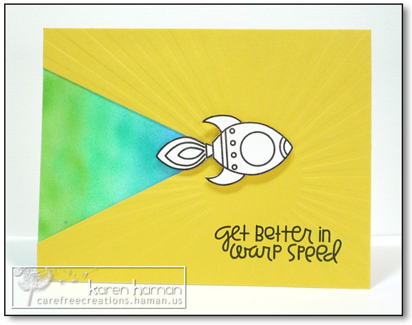 by karen @ carefree creations - Warp Speed