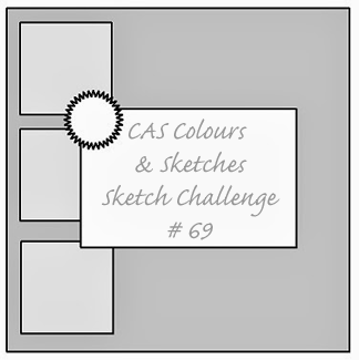 CAS Colours & Sketches Challenge #69