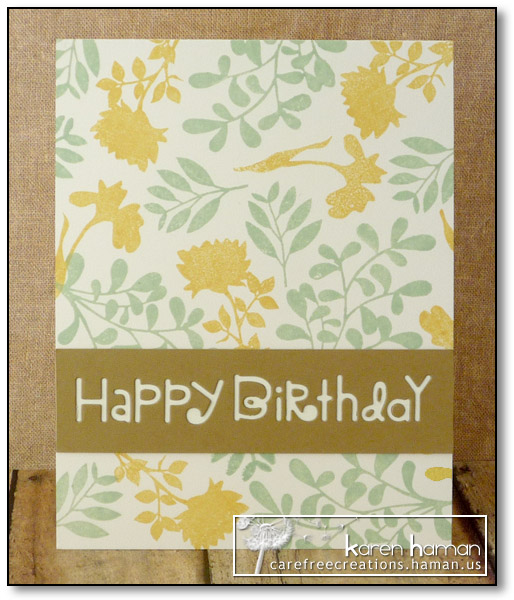Pastel Botanicals - by karen @ carefree creations