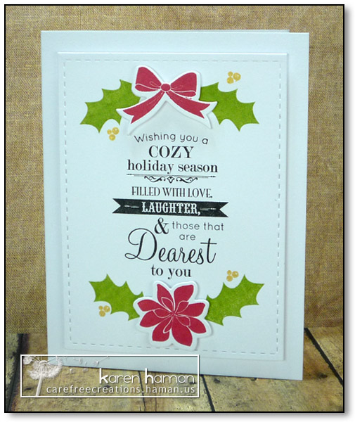 Cozy Holiday - by karen @ carefree creations