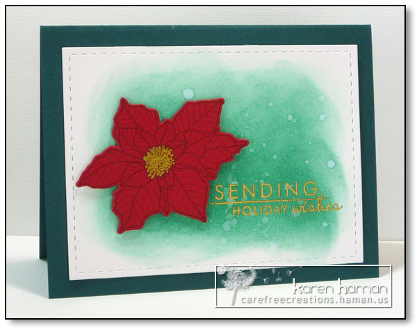 Poinsettia Holiday - by karen @ carefree creations