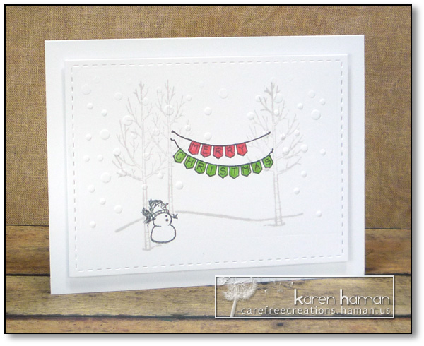 Christmas in the Forest - by karen @ carefree creations