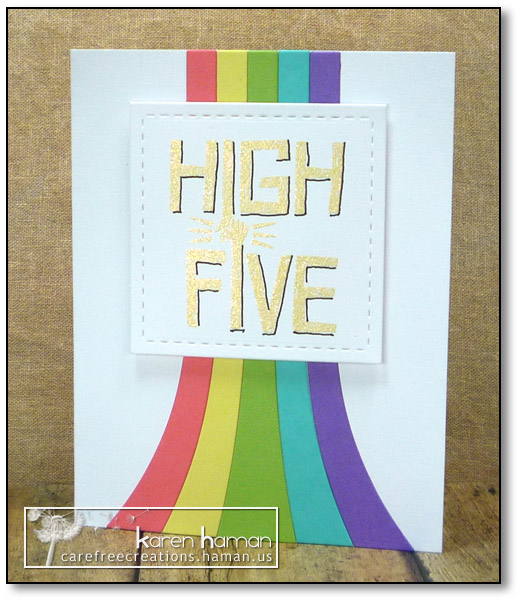 High Five - by karen @ carefree creations