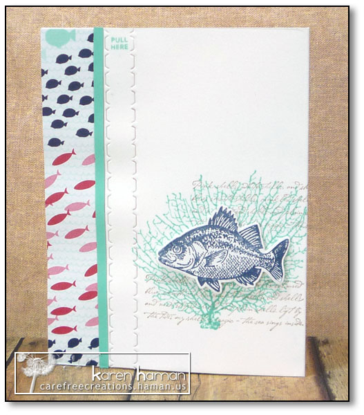Interactive Card - by karen @ carefree creations