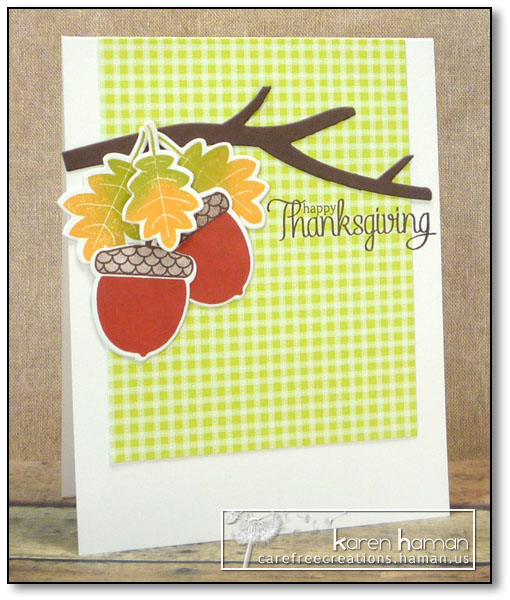 Thanksgiving Acorns - by karen @ carefree creations