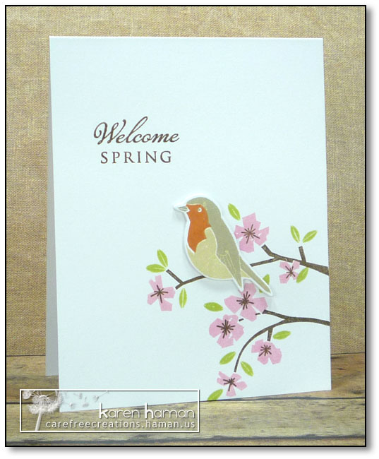 Welcome Spring | by karen @ carefree creations