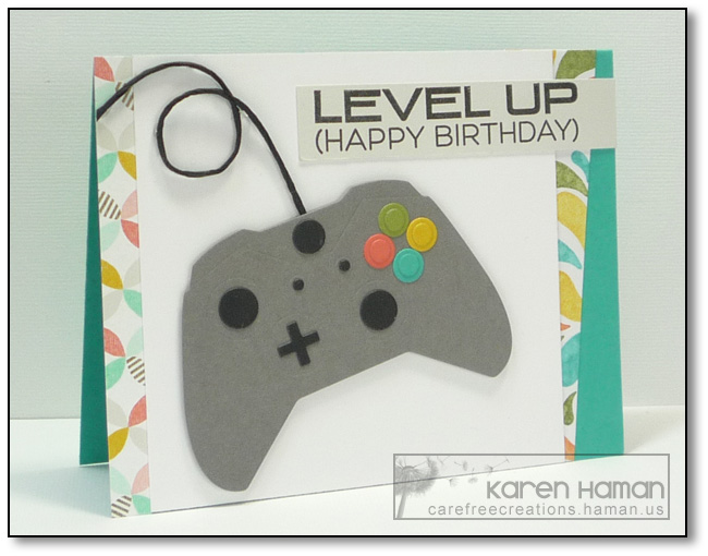 Level Up | by karen @ carefree creations