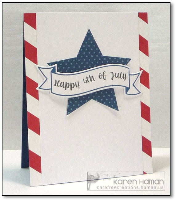 July 4th | by karen @ carefree creations