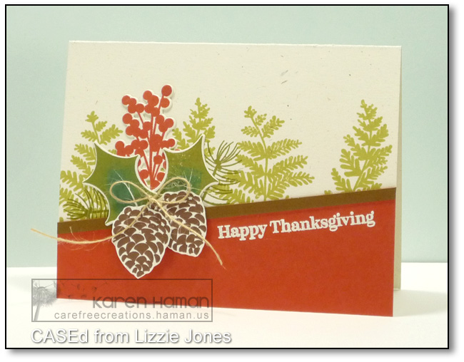 Sprigs & Pinecones   by karen @ carefree creations