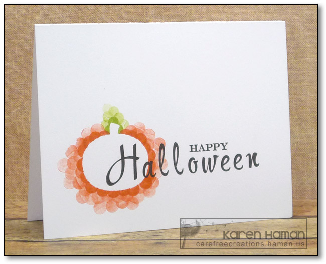 Halloween Dots | by karen @ carefree creations