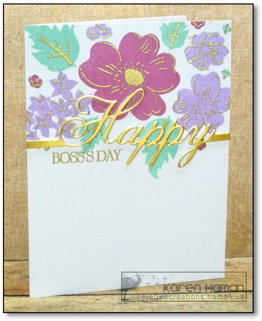 Boss's Day | by karen @ carefree creations