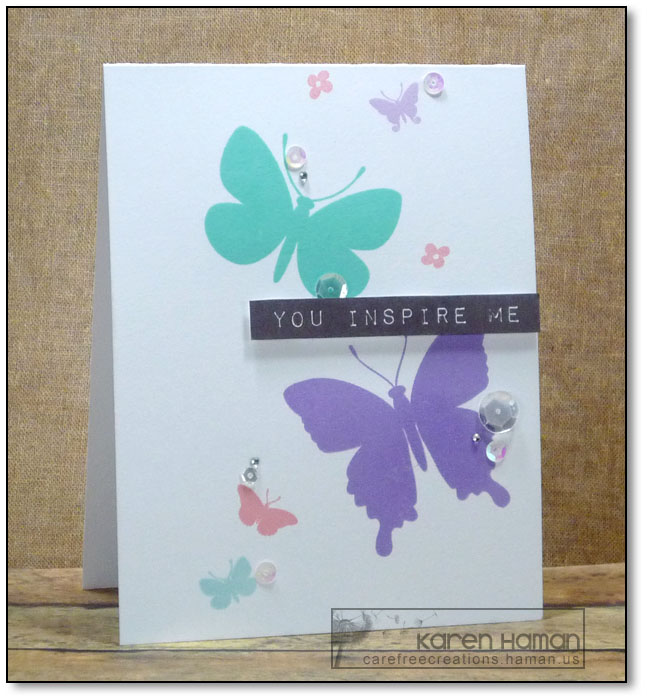 You Inspire Me | by karen @ carefree creations