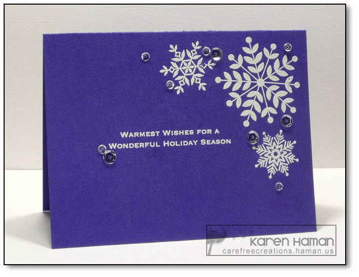 Warmest Wishes | by karen @ carefree creations