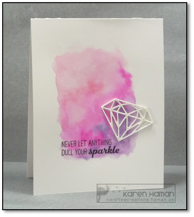 Never Dull Your Sparkle | by karen @ carefree creations