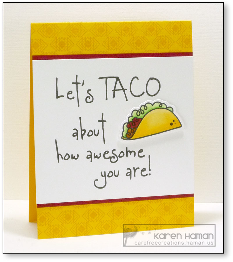 Taco About Awesome | by karen @ carefree creations