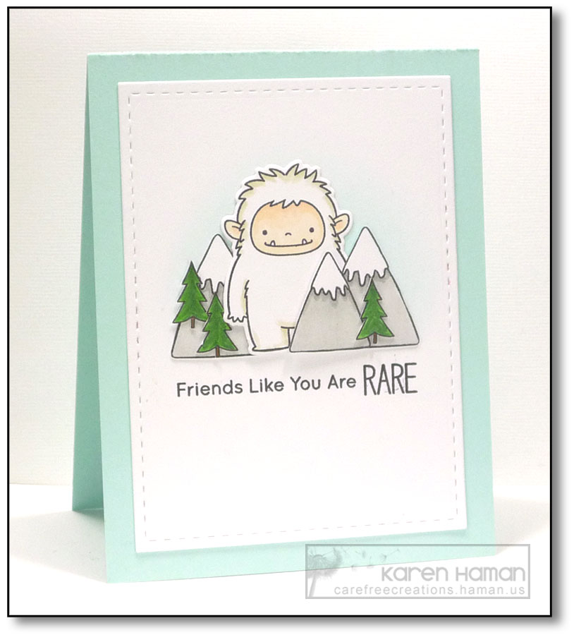 Rare Friend | by karen @ carefree creations